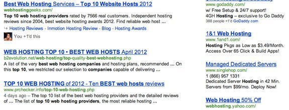 screenshot Why Google+ Will Help Get Your Company to the top of a SERP