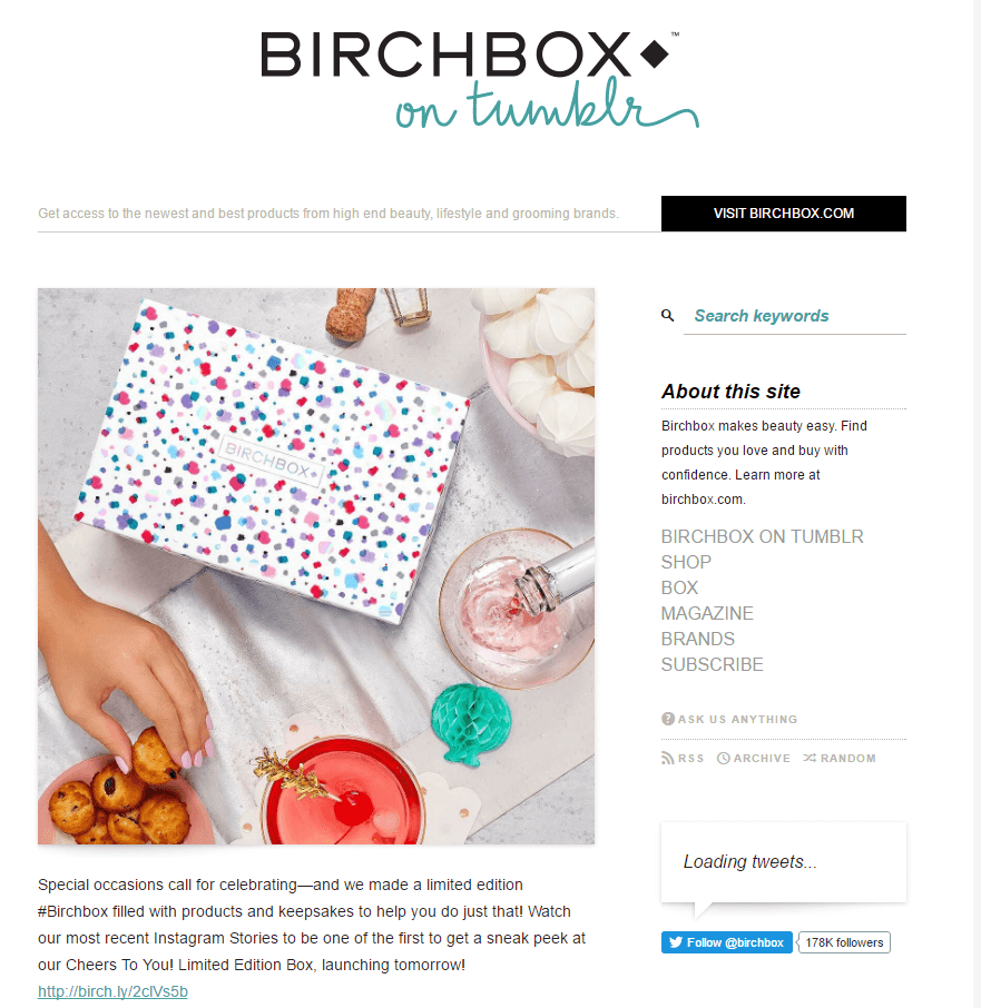 birchbox 5 Reasons Your E-Commerce Site Needs a Blog