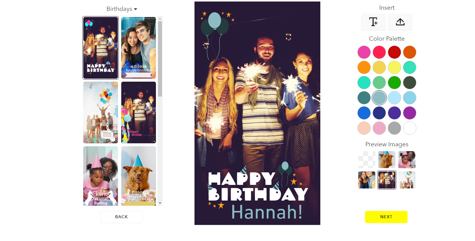 bdayfilter How to Create a Snapchat Geofilter