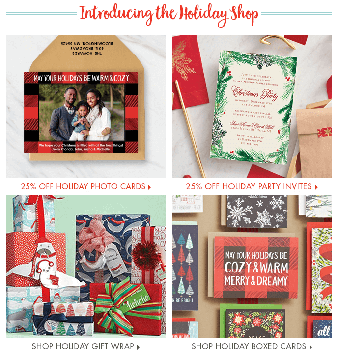 papersource2 6 Email Marketing Tips for Holiday Season